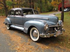 1947 Hudson Commodore  Maintenance/restoration of old/vintage vehicles: the material for new cogs/casters/gears/pads could be cast polyamide which I (Cast polyamide) can produce. My contact: tatjana.alic@windowslive.com