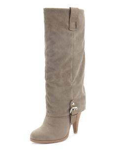 Buckle Fold-Over Heel Boot