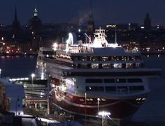 Viking Grace arrives at Stockholm  - CLICK ON THE PICTURE TO WATCH THE VIDEO Video Clip, Stockholm, Vikings, Cruise, Pictures, Watch, The Vikings, Photos, Cruises