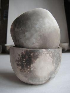 Wood-fired Cups, Heather Gabriel via Michelle Chamlee