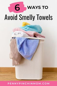 Do you have smelly towels? Are they not quite as absorbent as they use to be? There is a simple trick I use to remove the smell from towels. And, it just takes TWO simple products. Smelly Towels, Old Towels, How To Remove, How To Get, Home Decor Hacks, Create A Budget, Frugal Living Tips, Saving Ideas, Washing Clothes