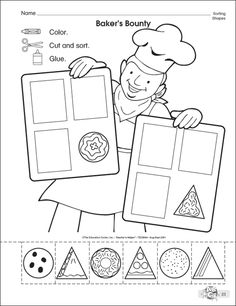 Crafts,Actvities and Worksheets for Preschool,Toddler and Kindergarten Shapes Worksheets, Worksheets For Kids, Kindergarten Worksheets, In Kindergarten, Preschool Activities, Shapes Worksheet Preschool, Shape Activities, Free Preschool, Preschool Curriculum