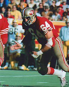 Dave Wilcox San Francisco 49ers 1964-74. HOF Class '00.