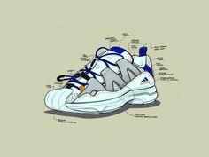 0a6ffd5251fa ADIDAS SS2G   CONSORTIUM SERIES on Behance Art De La Chaussure