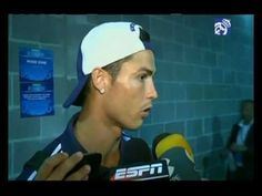 Video Real Madrid 5-1 AC Milan: Ronaldo speaks to the media
