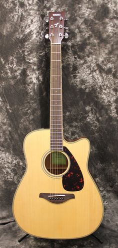 Musical Instruments & Gear Enthusiastic Yamaha Fgx820c Acoustic-electric Guitar Always Buy Good