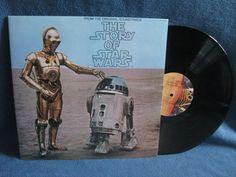 RARE Vintage The Story Of Star Wars John by sweetleafvinyl on Etsy Books On Tape, Disney Records, Soundtrack Music, Vinyl Sales, Star Wars Merchandise, Film Score, Episode Vii, Original Trilogy, Star Wars Toys
