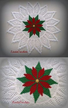62 Ideas crochet patterns free doily snowflake ornaments for 2019 Crochet Motifs, Crochet Quilt, Crochet Home, Thread Crochet, Crochet Doilies, Crochet Flowers, Free Crochet, Crochet Christmas Decorations, Crochet Christmas Ornaments