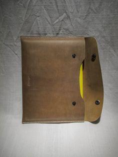journal case Aaron Sha handmade leather Goods