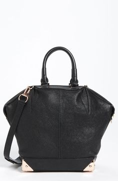 Alexander Wang 'Emile - Small' Leather Tote Black