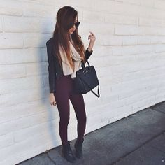 Black combat boots outfit ♡ #Look#