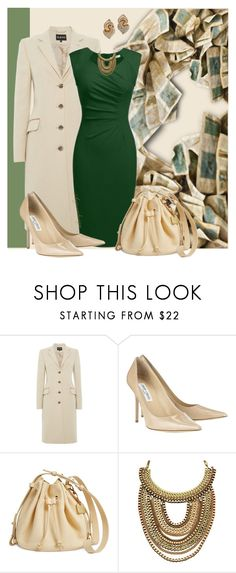 """""""FIRST DINNER DATE"""" by arjanadesign ❤ liked on Polyvore featuring Jimmy Choo, Skagen, jimmychoo, Aston, angvns and skagenibsen"""