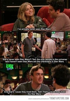 Never seen Star Wars?!