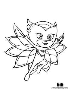 PJ Masks | Printables Baby - Free Cartoon Coloring Pages