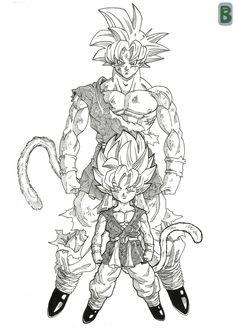 Goku GT ssj god by bloodsplach on DeviantArt