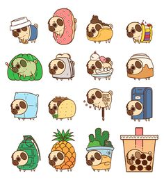 Puglie Food & Things Whatchu doin' in all that. #design #illustration