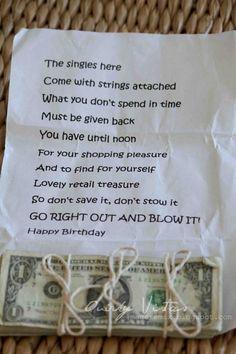 Hilarous Great birthday idea!  [ ItsMyMitzvah.com ] #birthday #celebrate #personalized