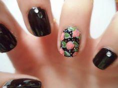 Badda Bling Badda Bloom Manicure.