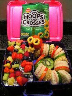 Loving the hungry caterpillar lunch box idea @gillsaunders Gill Saunders!