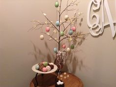 Easter Egg branch tree. :)