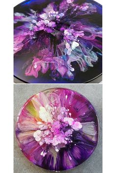 Acrylic pouring by fluidart Do you want to know the best acrylic pouring recipes? More and more people are creating amazingly colorful artwork by simply pouring… Acrylic pouring recipes and techniques for amazing DIY paintings - Craft-Mart Pour Painting Techniques, Acrylic Pouring Techniques, Acrylic Pouring Art, Flow Painting, Diy Painting, Acrylic Art Paintings, Matte Painting, Painting Tutorials, Creation Image