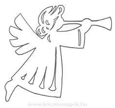 papír angyalka készítése - Google keresés