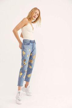 716568775 Denim Super Striped Flare Jeans | Denim | Denim flare jeans, Flare ...