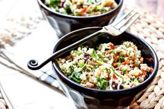 Healthy Aperture - Blog - [Inspired Vegetarian] Chopped Quinoa Salad with Cranberries