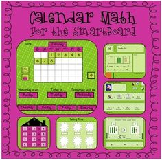 Calendar Math for SmartBoard