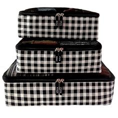 Travel Packing Cubes Best Premium Luggage Organizer System 3pc Set B&W Checkered Cluie http://www.amazon.com/dp/B012CPR16Q/ref=cm_sw_r_pi_dp_L5azwb11MQ8WK