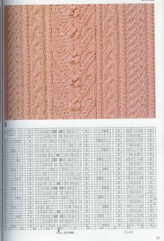 アルバム アーカイブ Cable Knitting Patterns, Knitting Stitches, Lana, Knit Crochet, Charts, Album, Google Translate, Yandex, Knitting Needles
