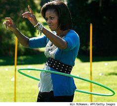 """Michelle Obama's """"Let's Move"""" campaign!"""
