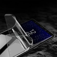 Rock Self-healing Curved Hydrogel Screen Protector Clear With Positioner for Samsung for Galaxy Note 8 High Quality Samsung Galaxy Note 8, Taiwan, Belize, Uganda, Puerto Rico, Invisible Shield, Samsung Accessories, Self Healing, Android