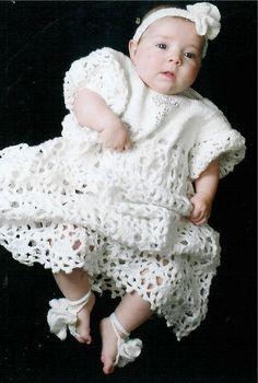 Crochet Baptism Gown