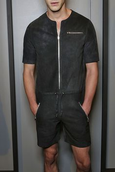 Anzevino Getty S/S 16 Menswear (New York)