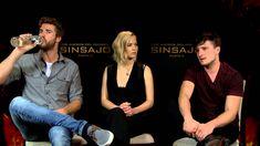 Interview with Jennifer Lawrence, Josh Hutcherson and Liam Hemsworth
