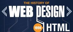 The History Of Web Design #design #art #history #graphics #illustrations