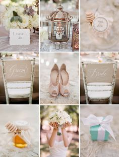 pretty wedding details.
