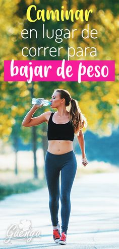 bajar de peso caminar in spanish