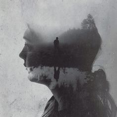 "escapekit: ""Wisdom for my Children Florida based photographer Brandon Kidwell created a series of double exposure portraits representing advice he's giving his kids over the years. The photos were. Double Exposure Tutorial, Double Exposure Effect, Multiple Exposure, Double Exposure Photography, Conceptual Photography, Photoshop Photography, Art Photography, Portraits En Double Exposition, Exposition Photo"