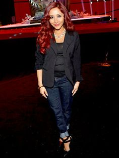 Snooki, I love this look!