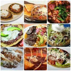Deliciosos platillos mexicanos