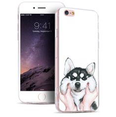 [NEW] Cute Cartoon Husky iPhone and Samsung Cases!
