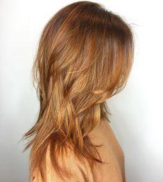 60 Lovely Long Shag Haircuts for Effortless Stylish Looks Modern Shag Haircut, Long Shag Haircut, Medium Hair Styles, Curly Hair Styles, Long Shag Hairstyles, Beautiful Haircuts, Long Layered Hair, Great Hair, Hair Looks