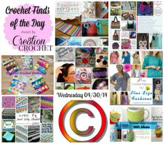 Cre8tion Crochet's Finds of the Day Wednesday 04/30/14