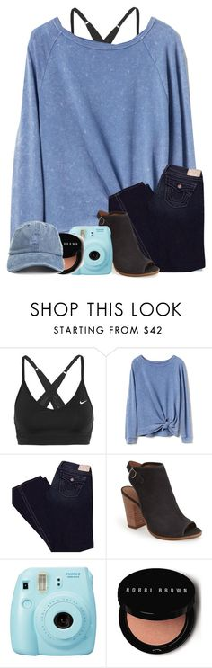 """""""I think I'm in ❤️"""" by legitmaddywill ❤ liked on Polyvore featuring NIKE, Gap, True Religion, Lucky Brand, Fuji and Bobbi Brown Cosmetics"""