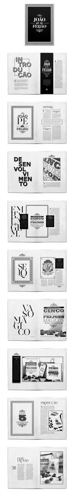 Beautiful type and layout design