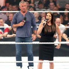 The official home of the latest WWE news, results and events. Get breaking news, photos, and video of your favorite WWE Superstars. Mcmahon Family, Shane Mcmahon, Stephanie Mcmahon, Wwe News, Wwe Superstars, Sporty, Live, Fashion, Moda