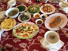 Meal in Cu Lao Cham, Da Nang