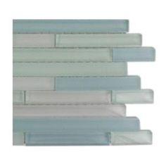 Splashback Tile, Temple Coast Glass Tile Sample, R3A7 at The Home Depot - Mobile